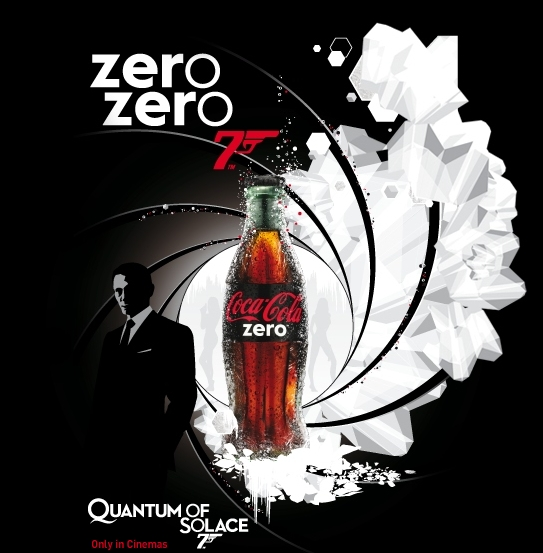 James Bond: drink zero and be a hero.