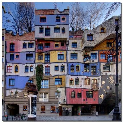 Hundertwasser-building